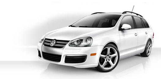 The Jetta Wagon is gone for 2010, replaced by a new Golf Wagon, the biggest Golf ever offered.