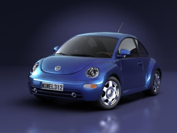VW'S NEW BEETLE