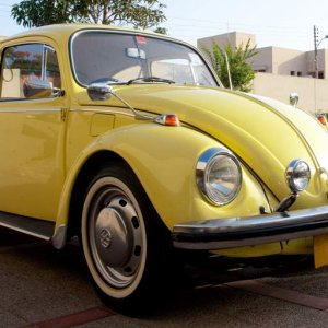 My VW Yellow 1969